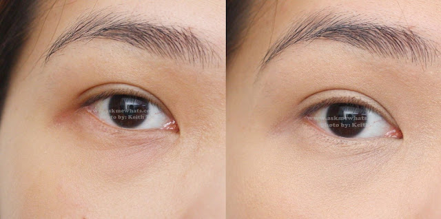A photo of before and after using Kate Cover Concealer for COVER in NB