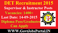 DET Recruitment 2015