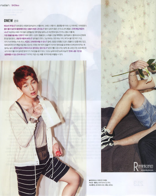 Shinee for Nylon Magazine March 2013- HQ scans + BTS + Eng trans