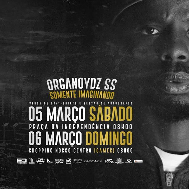 """Organoydz S.S - Álbum """"Somente Imaginando"""""""""""