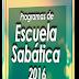 Programas de Escuela Sabática 2016