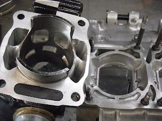 Yamaha Banshee Case Porting
