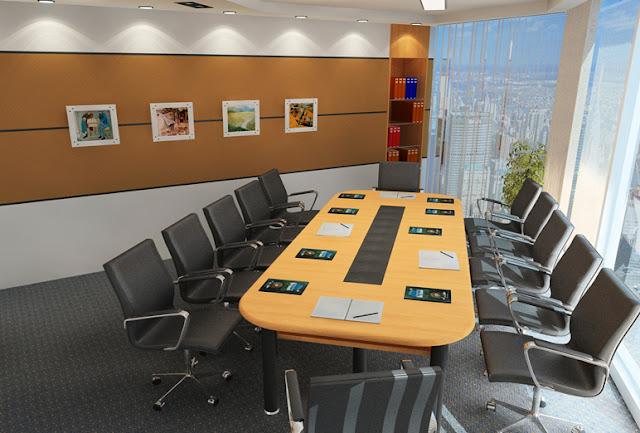 Thiết kế nội thất phòng họp 03