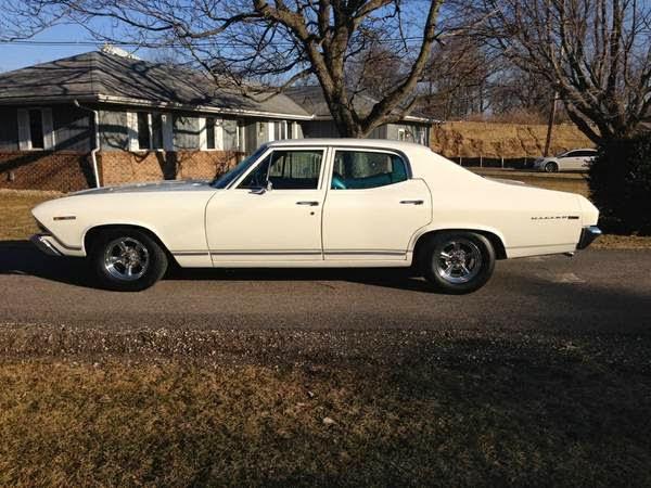 1969 Chevrolet Chevelle Malibu 4 Door Sport Sedan (Hardtop)