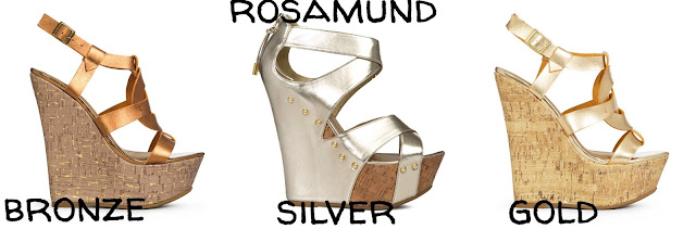 Berlin Fashion Week Glaw Catwalk Heels Schuhe Metallic Trend