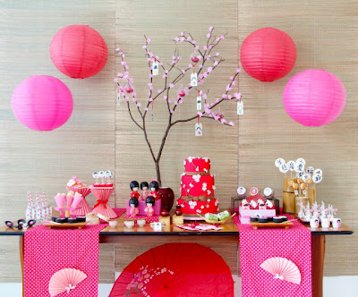 Blog da amely festa oriental - Mesas japonesas ...