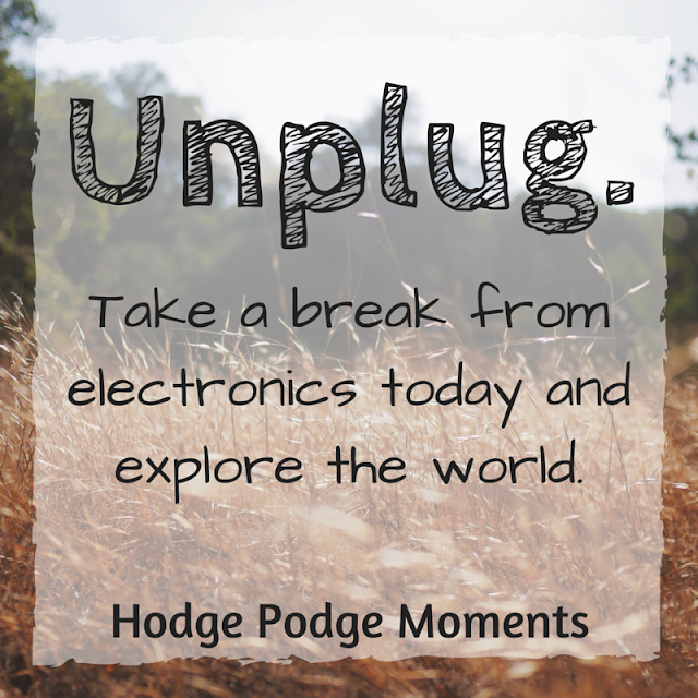 Unplug Today