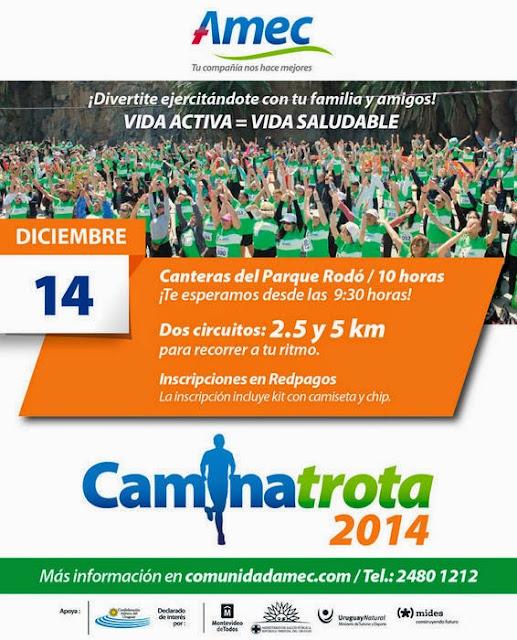 5k y 2,5 y Caminatrota de AMEC (Canteras, 14/dic/2014)