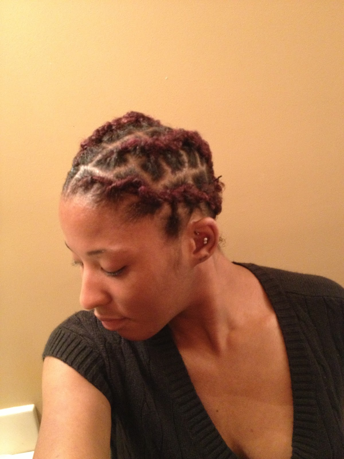 Crochet Hair Over Locs : ... it begins hair.: Versatility of Locs: Marley Hair Extensions