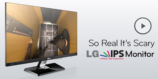 'Tan real que asusta', la tecnología IPS LED en las nuevas pantallas de LG