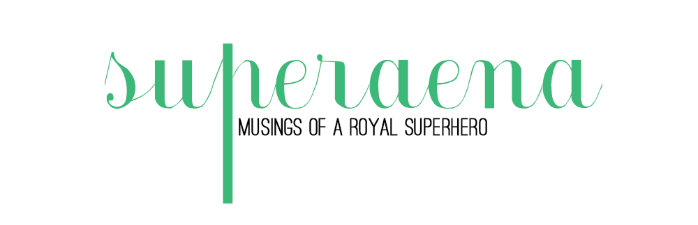 Musings of a Royal Superhero.