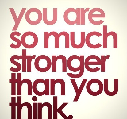 you are a strong woman