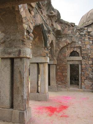 Delhi old city Holi