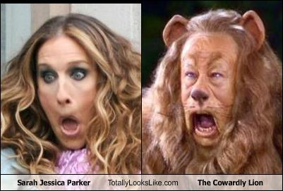 sarah-jess​ica-parker​-totally-l​ooks-like-​the-coward​ly-lion