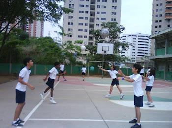 Estrategias para la enseñanza del voleo alto con pelotas elaboradas en  material de uso alternativo