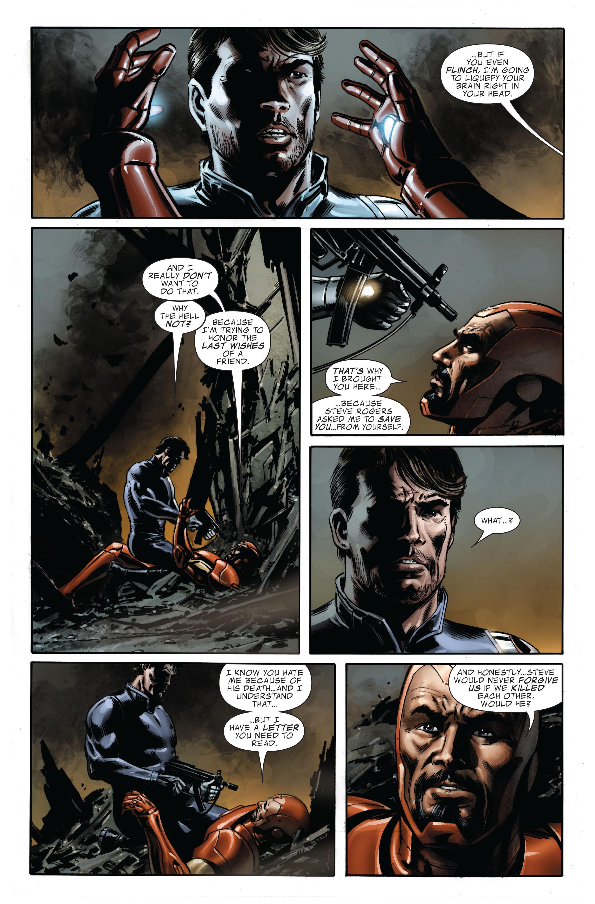Captain America (2005) Issue #33 #33 - English 18