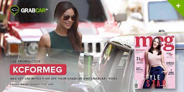 KCFORMEG GrabCar promo code | Benteuno.com