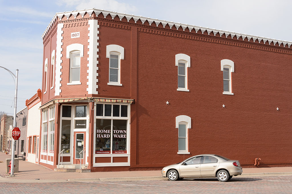 Building built in 1907, Woodbine, Iowa