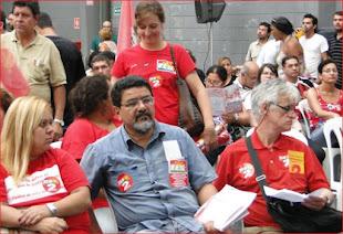 Foto de plenária da oposição unificada APEOESP