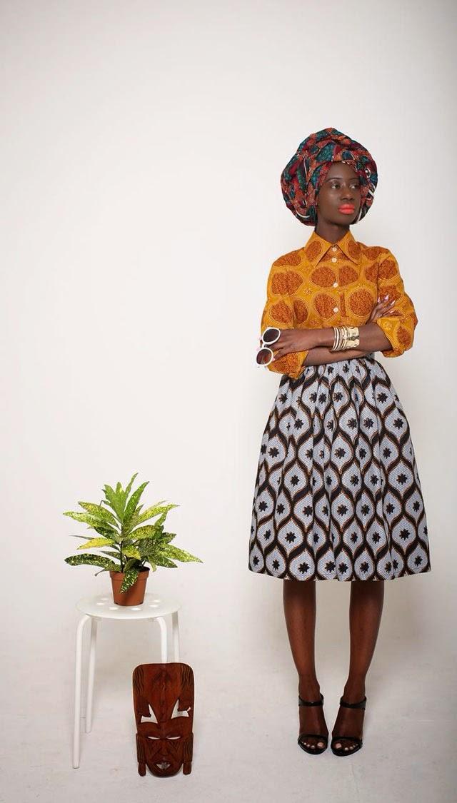 Ciaafrique African Fashion Beauty Style Lookbook Mazel John