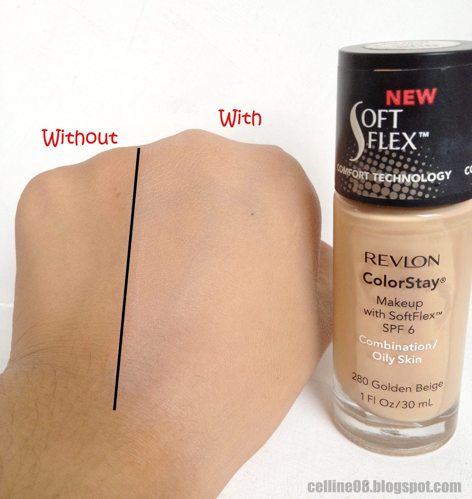 Review Revlon Colorstay In 280 Golden Beige Product Arena By Foundations Dont Be Alarmed This Doesnt Look Ghastly On Me Because My Face Is Fairer Then Hands Lol