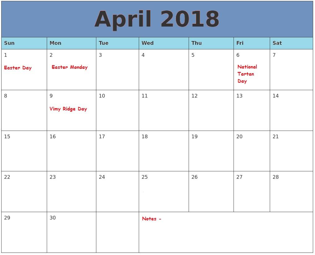 free april 2018 calendar april calendar 2018 april 2018 calendar printable april 2018