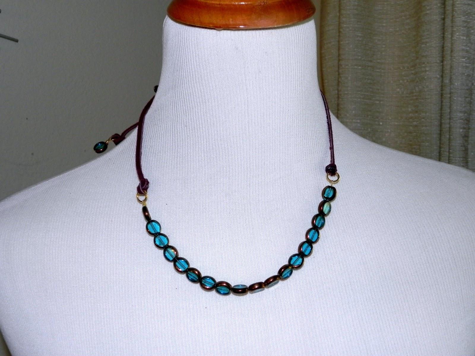 smart n snazzy diy boho beachy necklace