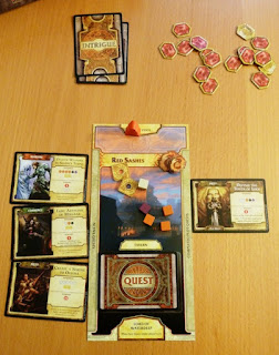 game player setup for Lords of Waterdeep