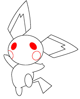 How To Draw Pichu Step 7
