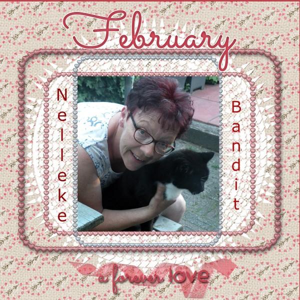 Feb. 2016 – Nelleke & Bandit