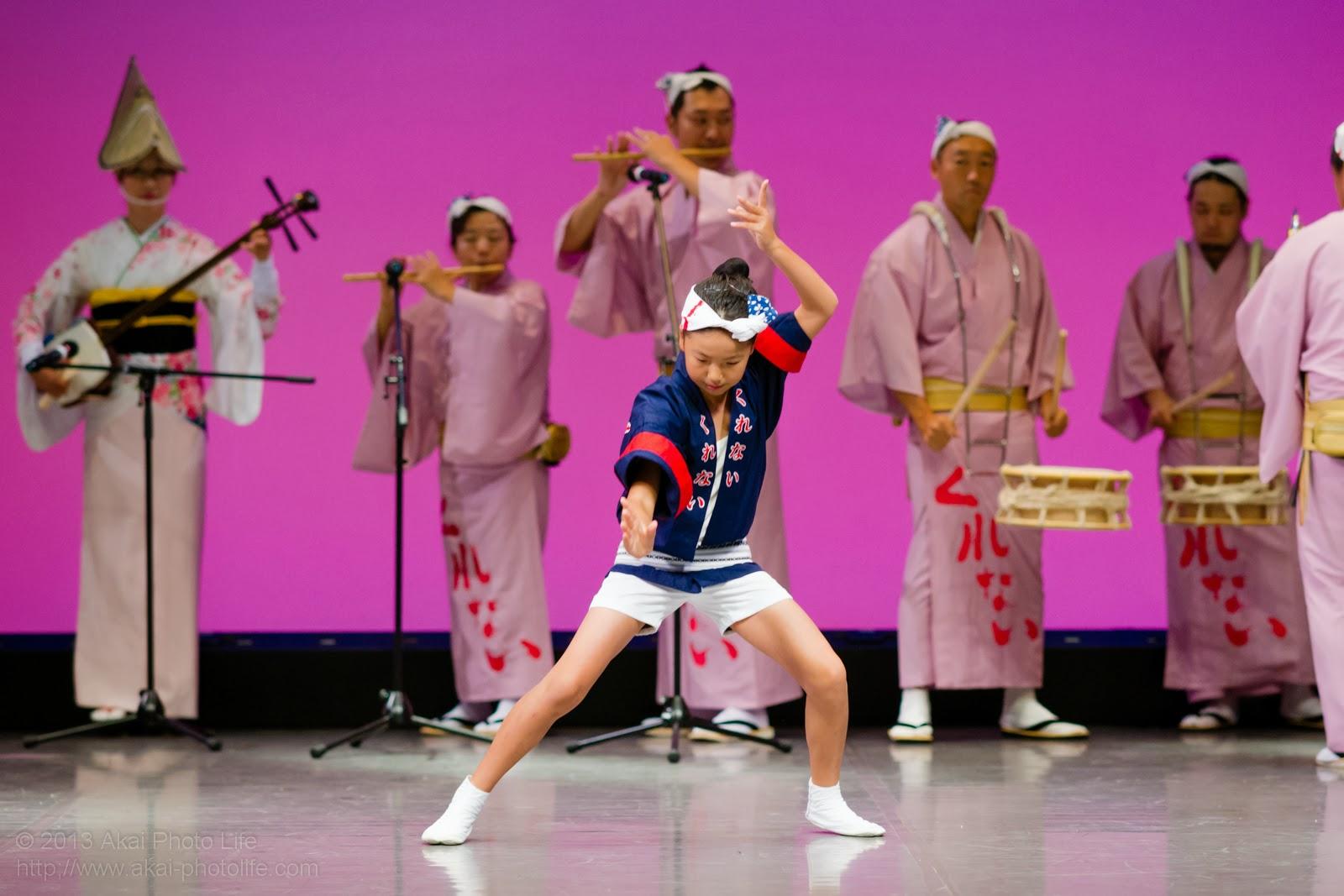 小金井市民文化祭、紅連の子供達の素手踊り