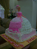 Barbie Doll's Cakes