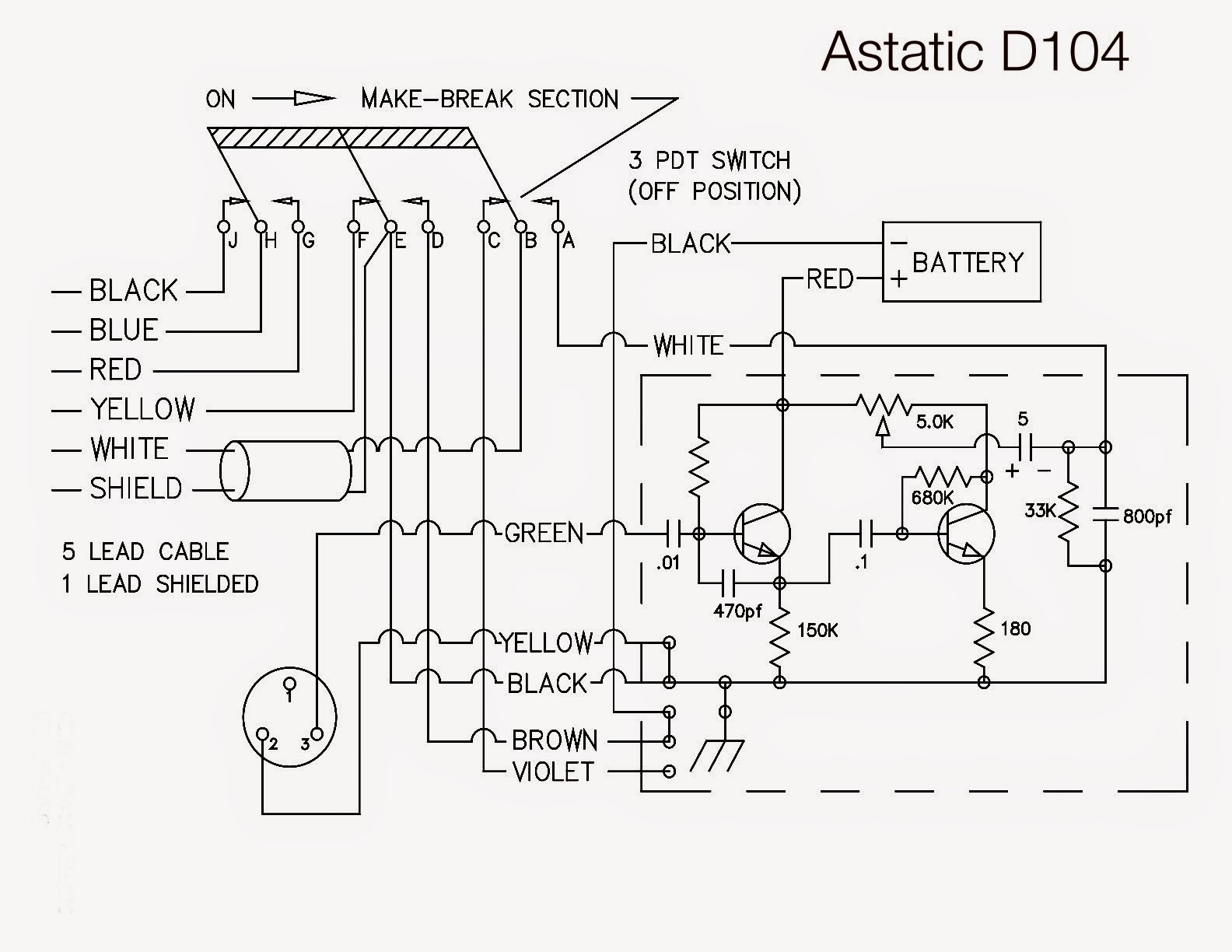 104 Silver Eagle Wiring Diagram Turner Microphone Astatic Mic And Then D In Addition As Well Echo Board