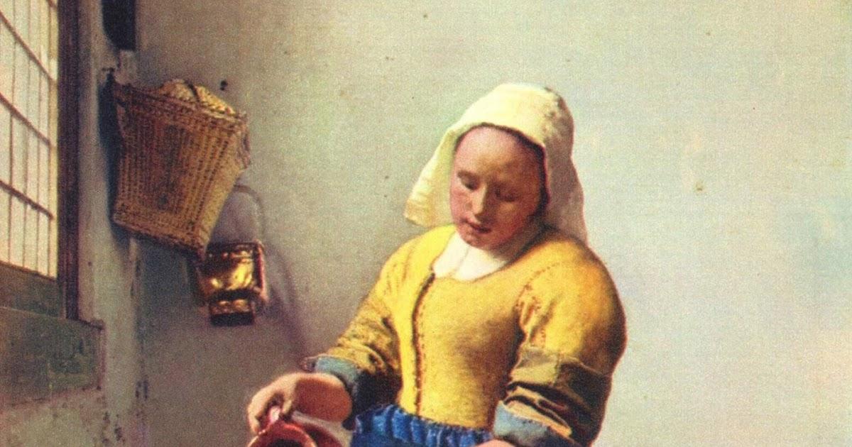 Le fle d 39 art en art - La lechera de vermeer ...