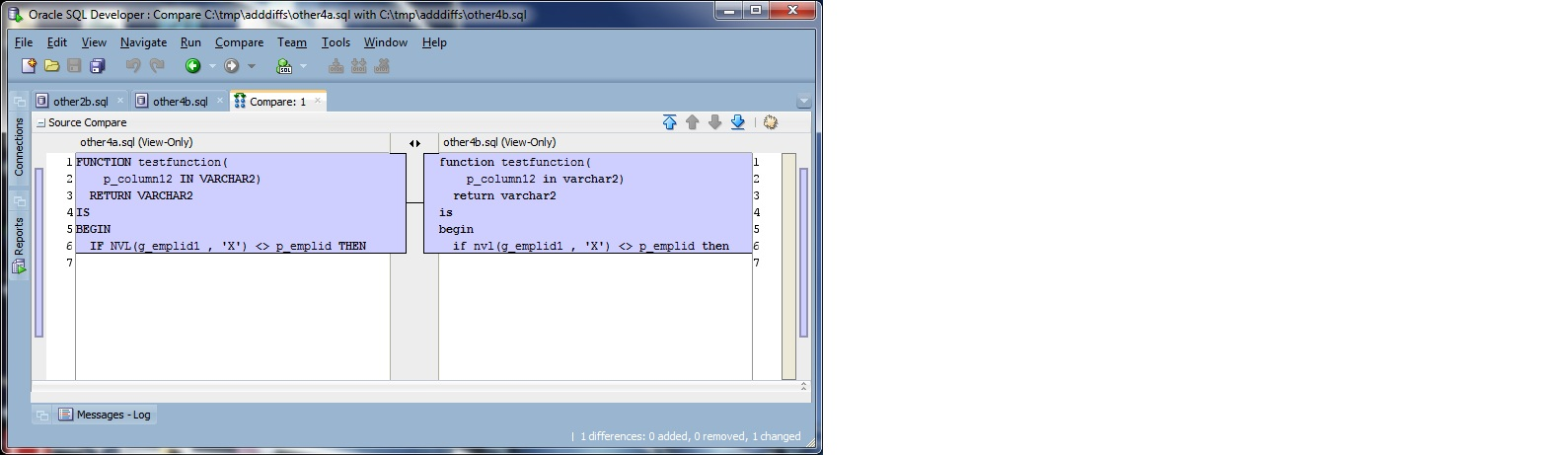 oracle show variable in raise application error