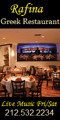 Greek restaurant NYC live music night club