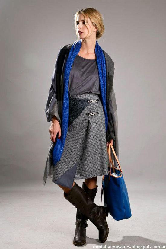 Otoño invierno 2013 coleccion Olga Naum moda