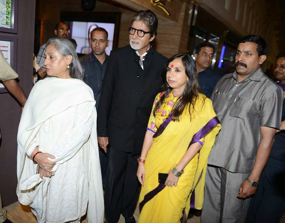 Amitabh Bachchan & Other celebs at Margarita With A Straw Premiere