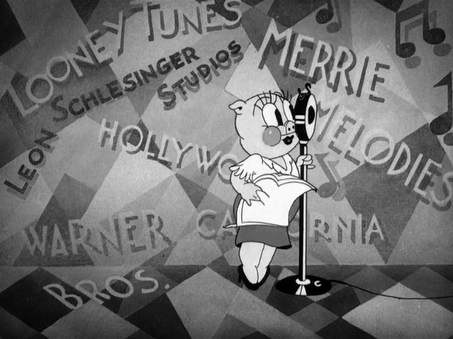 Begins Properly Announces Something Special For The Series Ladies And Gentleman Introducing Leon Schlesingers New Looney Tunes Star
