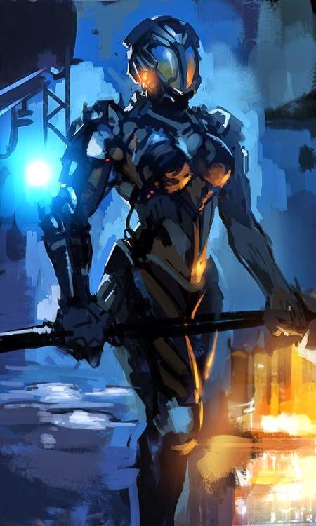 Kay Huang zippo514 deviantart ilustrações fantasia ficção científica