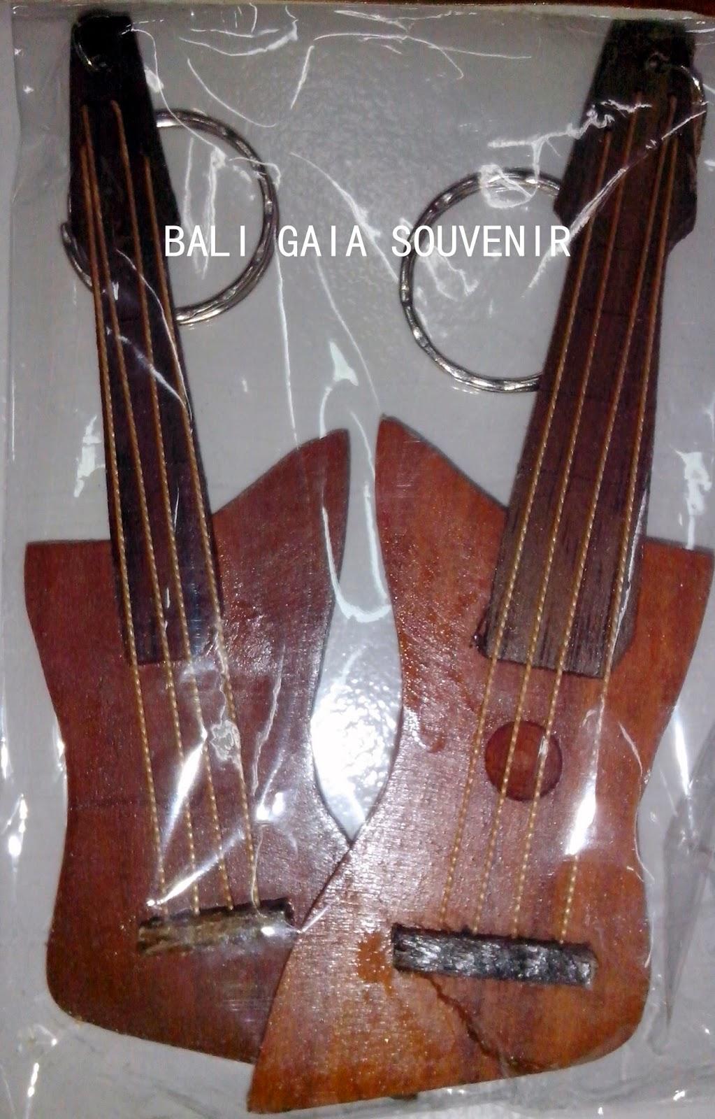 Gantungan Kunci Model Gitar Bali Gaia