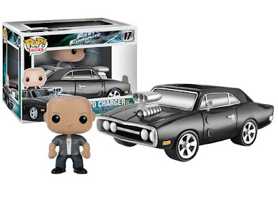 The Fast & The Furious 1970 Dodge Charger Pop! Rides with Dominic Toretto Pop! Vinyl Figure by Funko