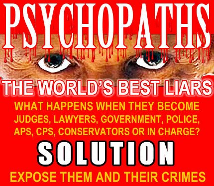 Corporate Psychopaths run local & national government