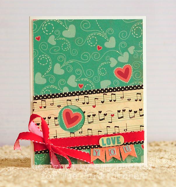 Tarjeta hecha a mano: Love You