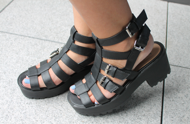 Boohoo Gladiator Sandals