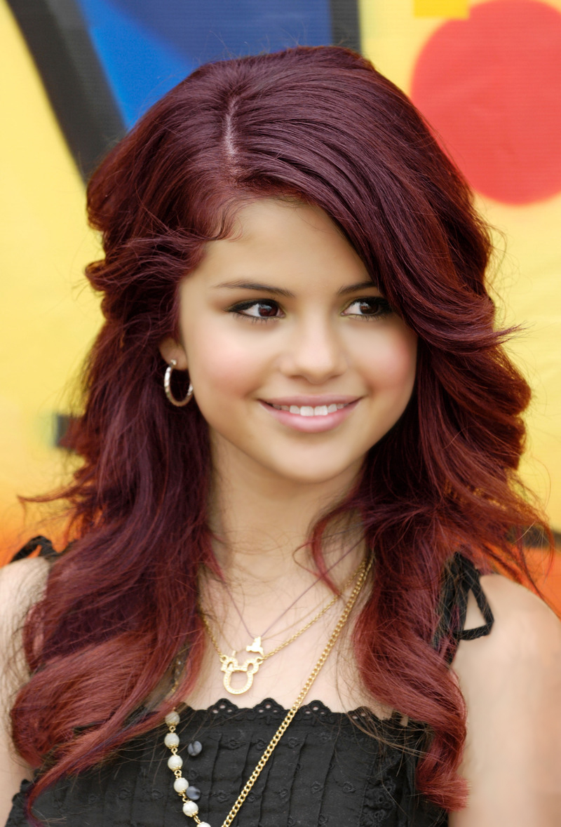 Selena Gomez Purple Hair Color