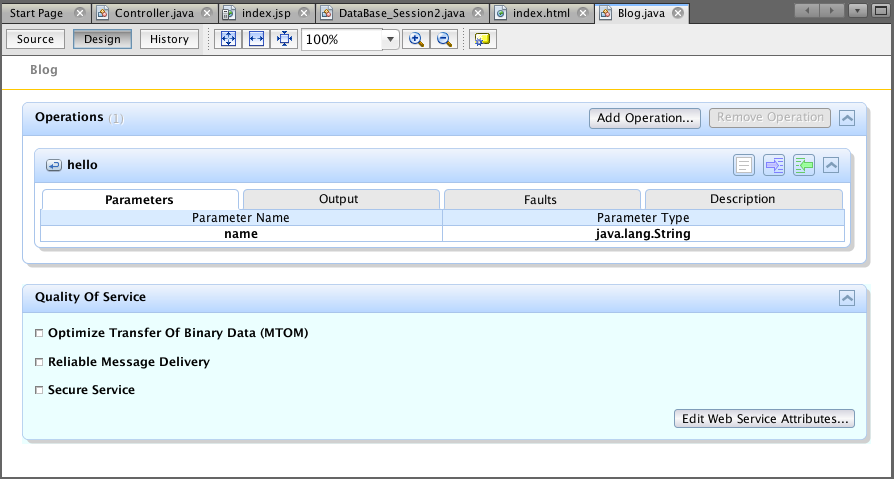 how to call webservice in java