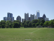 The Atlanta skyline taken from Piedmont Park. A huge park had everything you .
