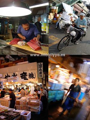 Tsukiji Market Tokio