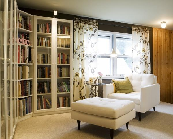 Formal Living Room Glass Faced Bookcases Always Make A Pretty Statement Decorpad